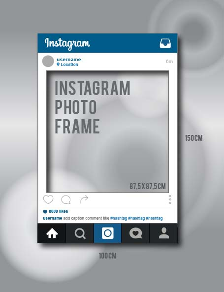 instagram prop mock up by veezha by veezha on deviantart