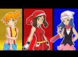 Misty May Dawn Pokemon Girls by babypersia