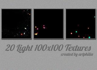 Lights Textures 100x100 by artphilia247