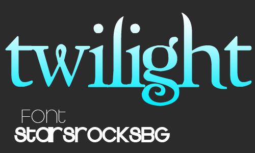 Twilight Font