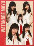 AKB48 Watanabe Mayu png 5P