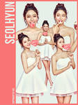 AOA Seol Hyun 5P png