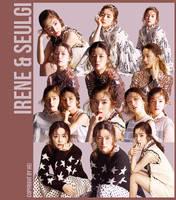 Red Velvet Irene n Seulgi 12P png by hyukhee05