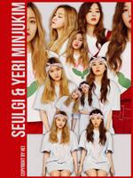 Red Velvet Seulgi n Yeri MinJuKim 6P png by hyukhee05