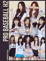 Red Velvet Pro Baseball H2 Part2 6P png by hyukhee05