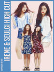 Red Velvet IRENE n SEULGI HIGH CUT part2 3P png
