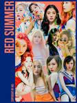 Red Velvet Red Summer 12P png