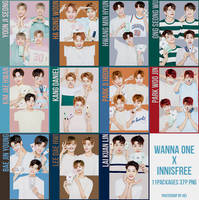 Wanna One Innisfree 37P png