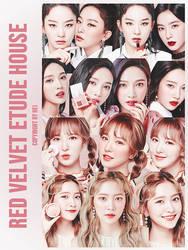 Red Velvet Etude House 14P png by hyukhee05