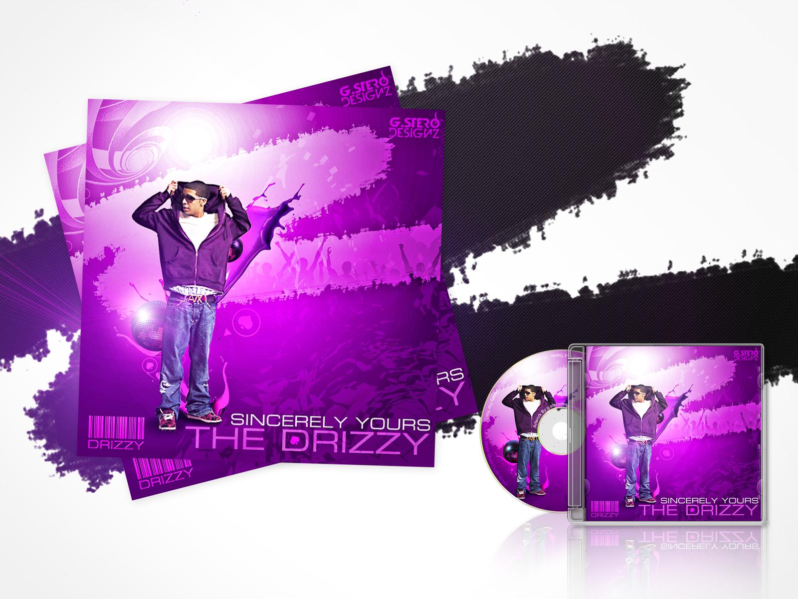 Drake Album Cover Free PSD