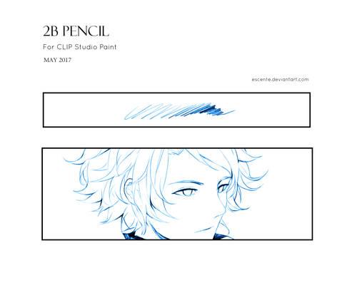 2B Pencil Brush