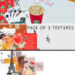Pack of 3 Textures