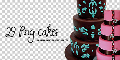 29 Cakes PNG by myonlyloverob