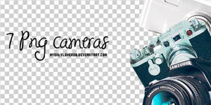 Pack of 7 Cameras