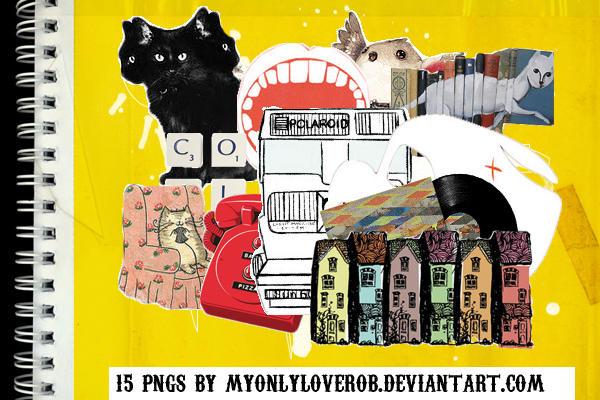 15 PNG by myonlyloverob