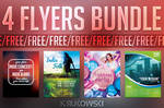 Free Flyer Templates Bundle