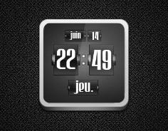 Jaku FlipClock for UCCW by babil0n