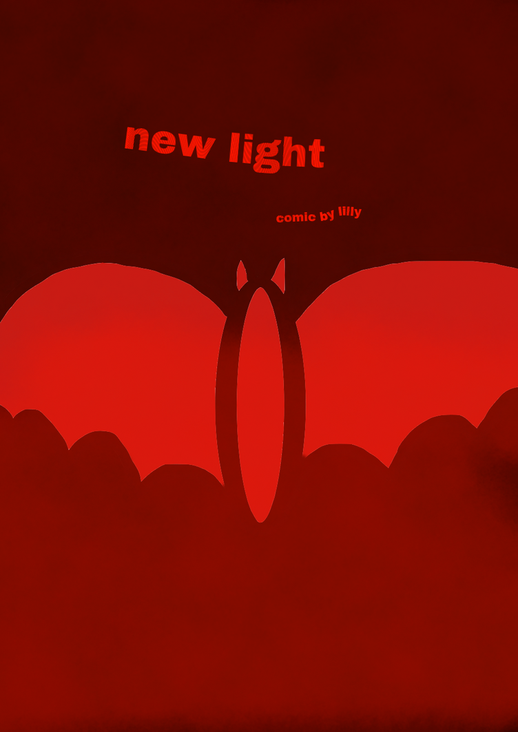 new light (gold cover) by LillyFilly4689