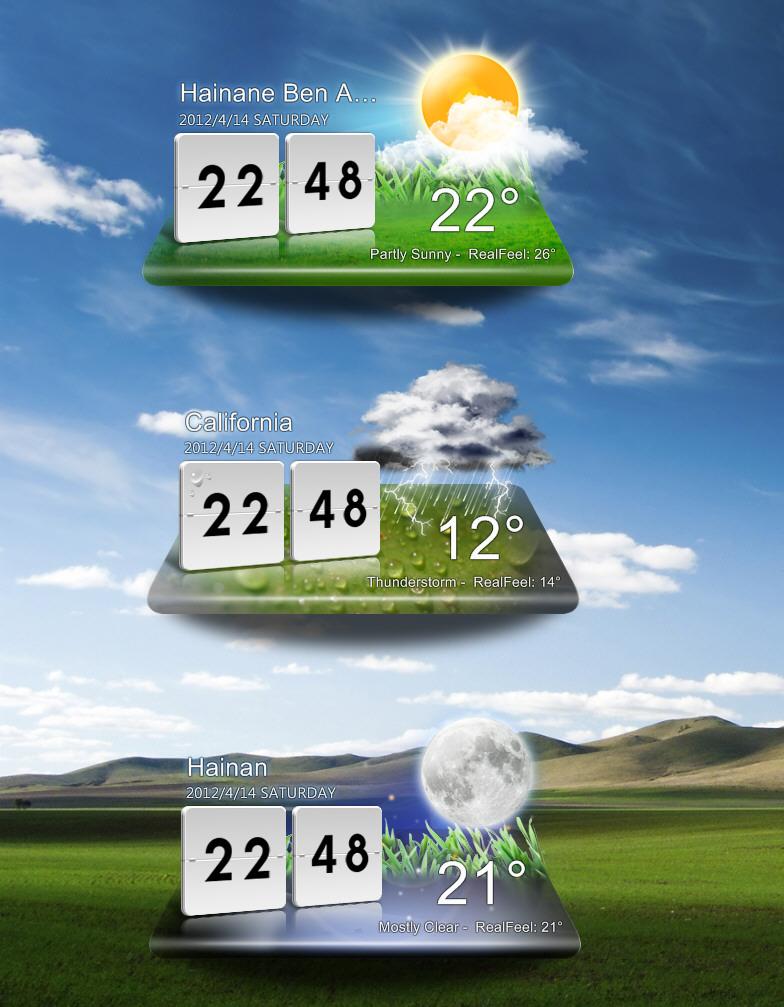 LG Optimus Weather by pigboat on DeviantArt