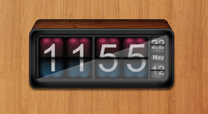 Geektool Digital Clock