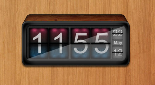 Geektool Digital Clock by pigboat