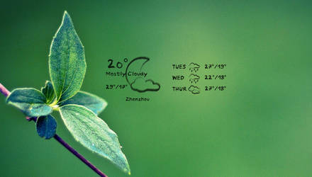Simple Pencil Weather by pigboat