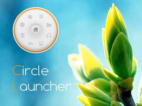 Circle Launcher for xwidget