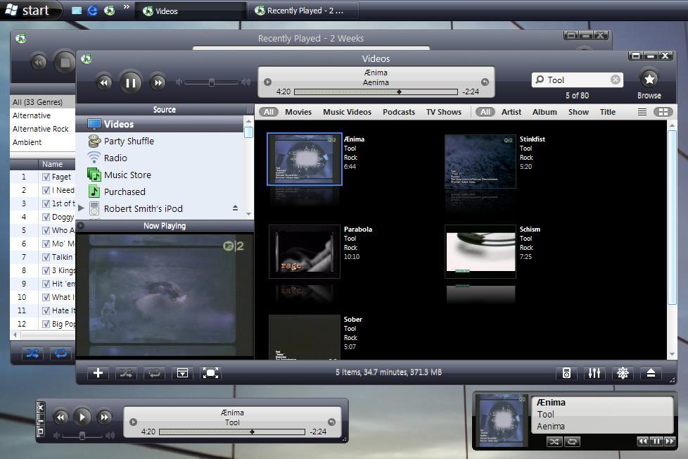 VistaXP for iTunes 6