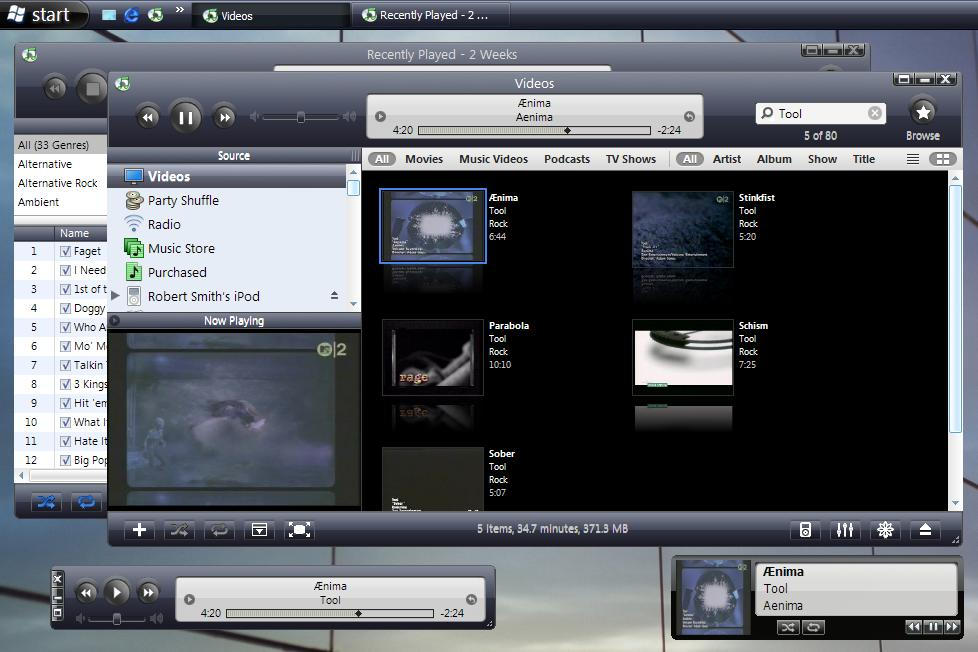 VistaXP for iTunes 6 by ffpsx