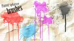 Paint Splat Photoshop Brushes