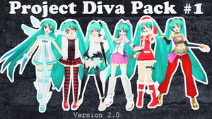 Miku Pack Download v2 by AlexIsDeadddx