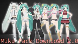 Miku Pack 3 Download v2.0 by AlexIsDeadddx