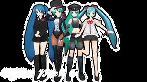 Miku Pack 6 Download by AlexIsDeadddx