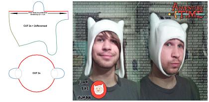 Finn-hat-pattern by NekoRushi on DeviantArt 74761756919