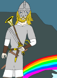 Heimdallr and the Bifrost
