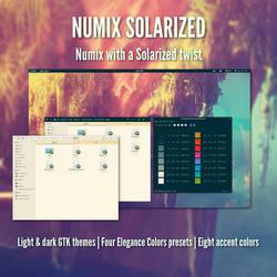 Numix Solarized