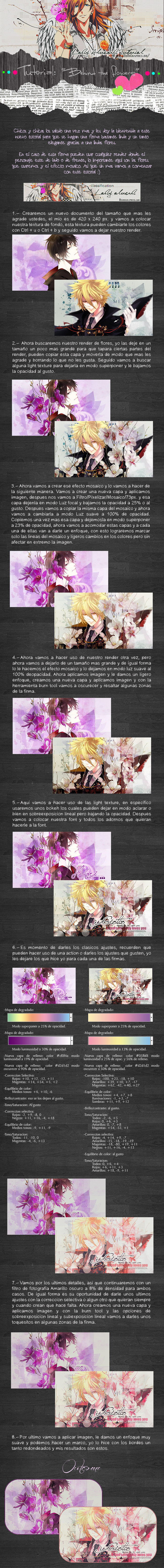 Tutorial_-_Behind the flowers by lady-alucard