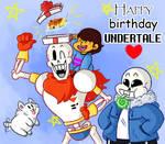 Happy Birthday Undertale!