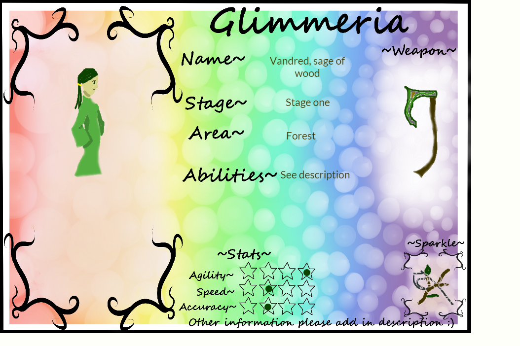 Glimmeria Mage: Vandred, sage of wood by Corcon