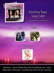Scotch Tape for CAD