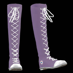 MMD High All Star Shoes DL by Floramy