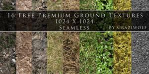16 Free Premium Seamless Ground Textures 1024X1024