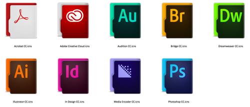 Aquave Adobe CC Folders by theBassment