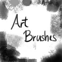 Art Brushes 2 by BasicFreedom