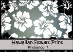 Hawaiian flower Brushes