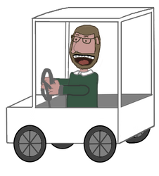 JAM 2015: Brad Muir in a Golf Cart Animation
