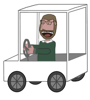 JAM 2015: Brad Muir in a Golf Cart Animation