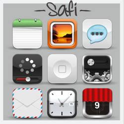 Safi HD iPhone Theme