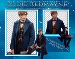 PNG Pack #1 - Eddie Redmayne (Newt Scamander)