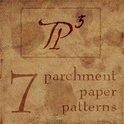 Parchment Paper Patterns by ericsalvi